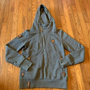 Naketano Brave New World Hoodie Size Medium EUC